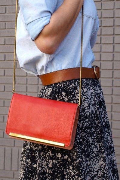 Washington DC Street Style - Designer Handbags