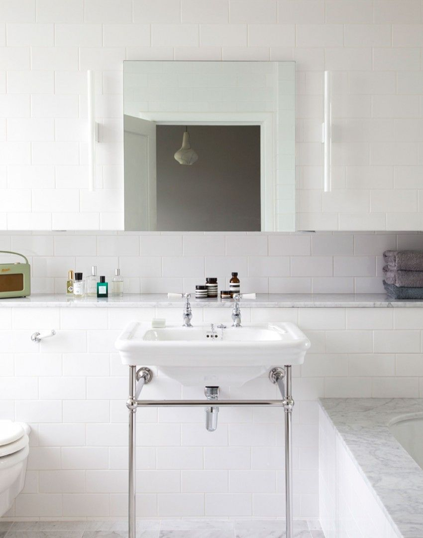 Inject a spot of good old-fashioned glamour into your bathroom with ...