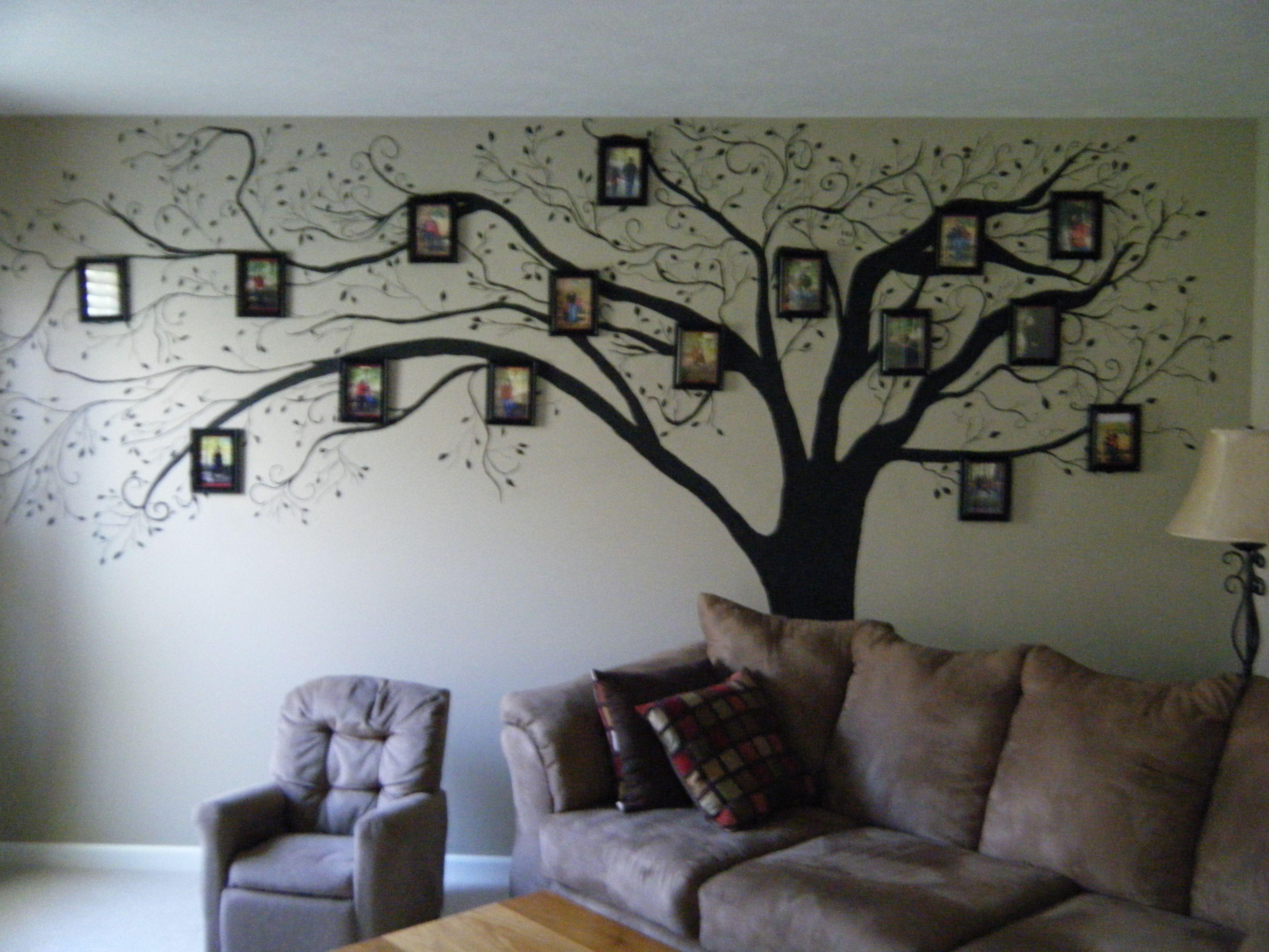 Hand painted family tree árvore genealógica pinterest family