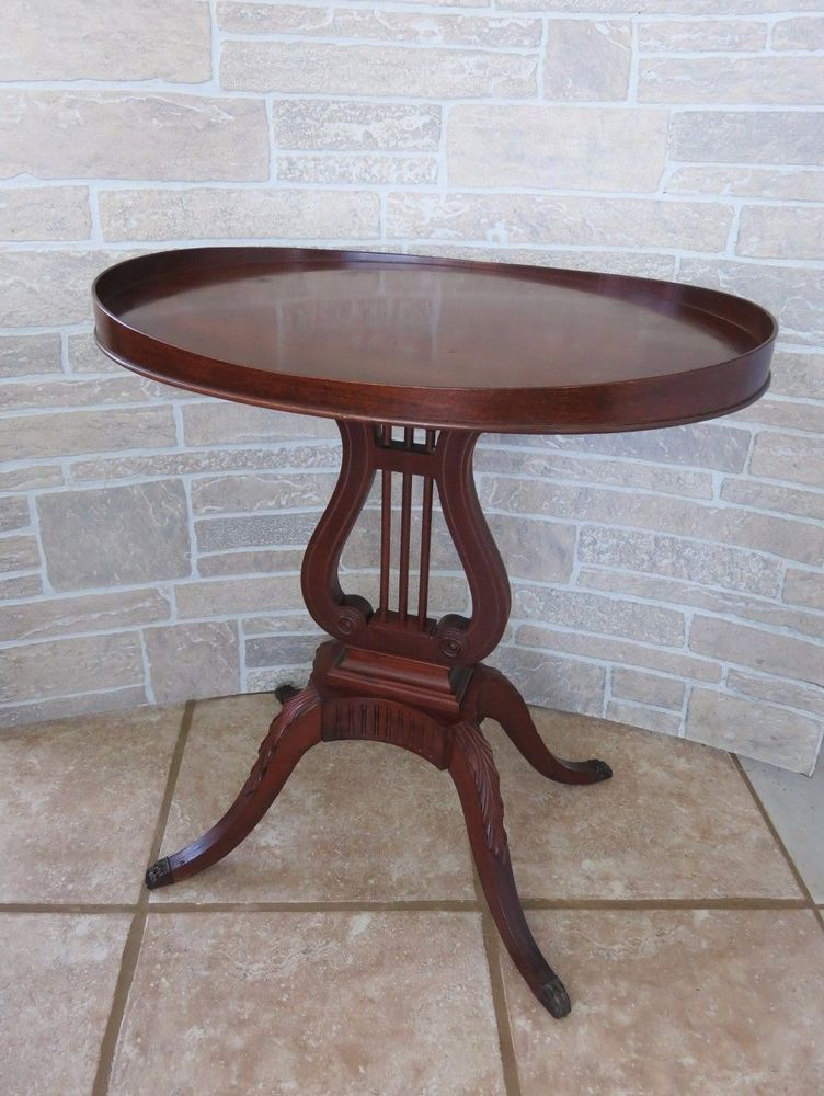 Details About Mersman 1940s Mahogany Duncan Phyfe Side