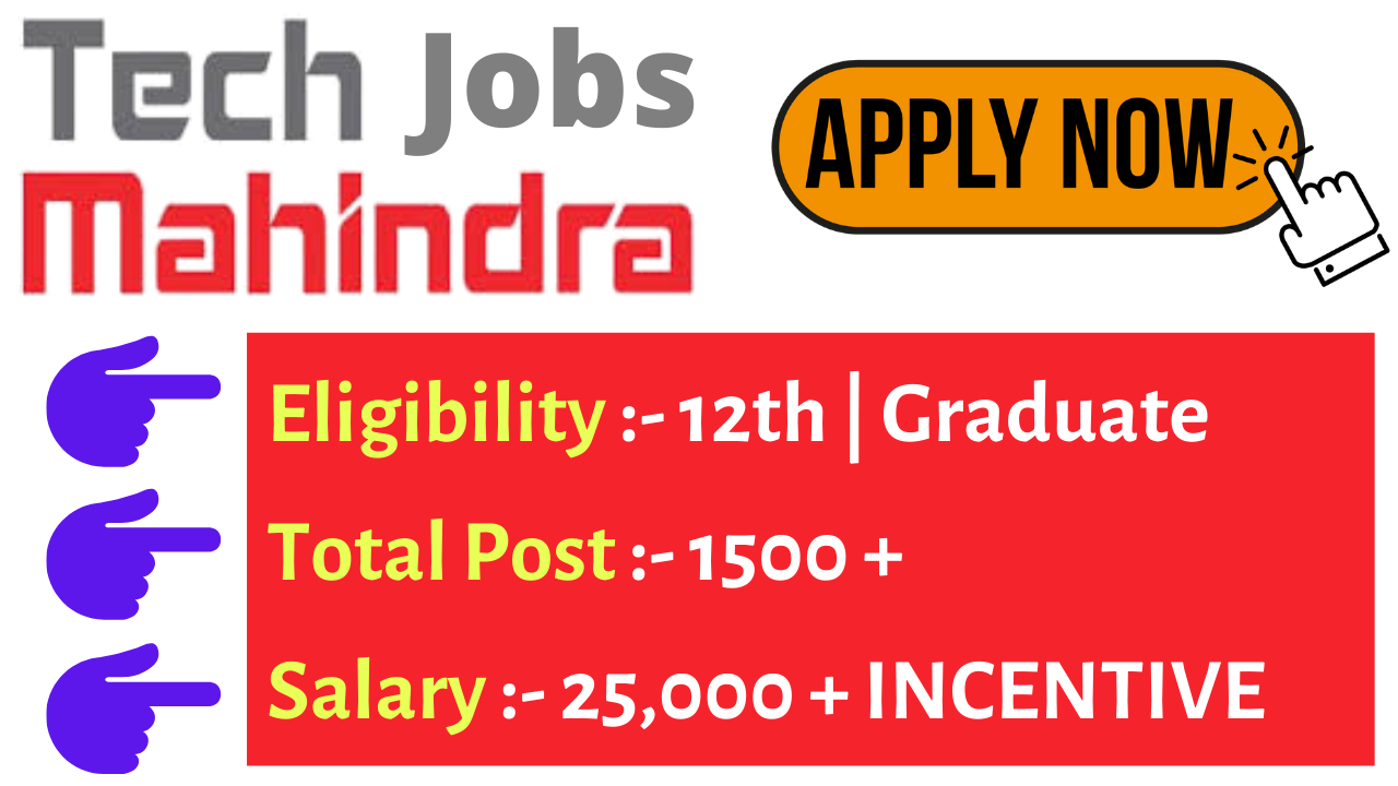 Tech Mahindra Jobs For Freshers Jobs For Freshers Work From Home Jobs Freelancing Jobs