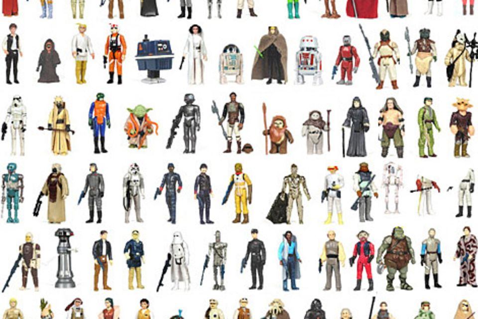 Complete Vintage Star Wars Action Figure Collection | Star Wars