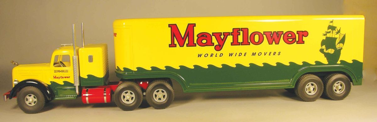 Smith Miller Toy Truck Mayflower Moving Van With Images Toy