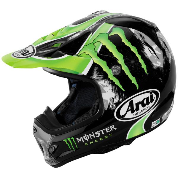 Arai VX-Pro3 Crutchlow Monster MX Off Road Helmets | Off ...