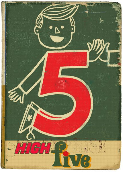 High-Five by Paul Thurlby, via Flickr