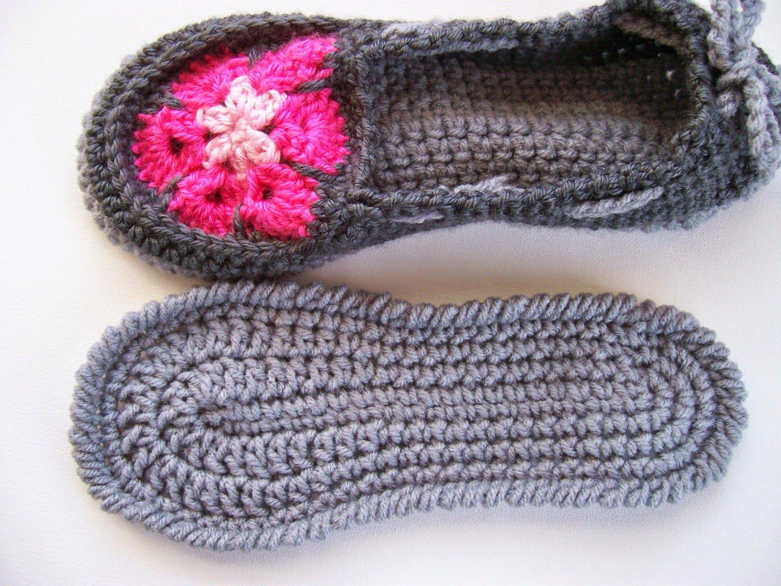 Fantastisch Häkel Pantoffeln Muster Frei Zeitgenössisch ...