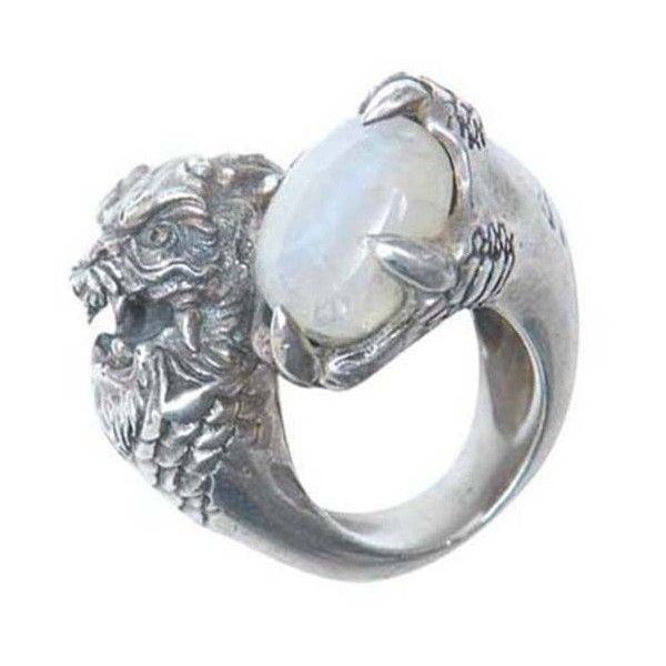 Kd2024 Naga ring (€565) ❤ liked on Polyvore featuring jewelry, rings, accessories, talon ring, claw ring and kd2024