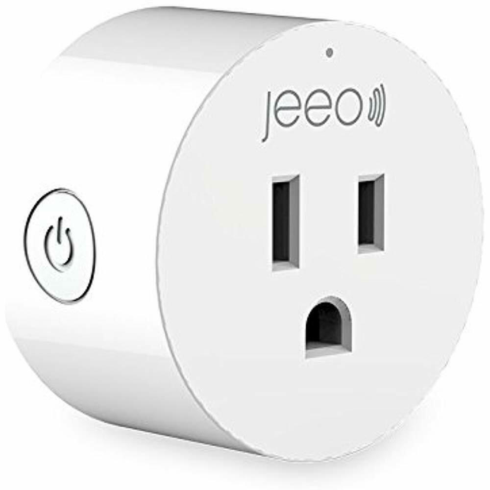 Jeeo Smart Wi Fi Plug Compatible With Alexa And Google Home