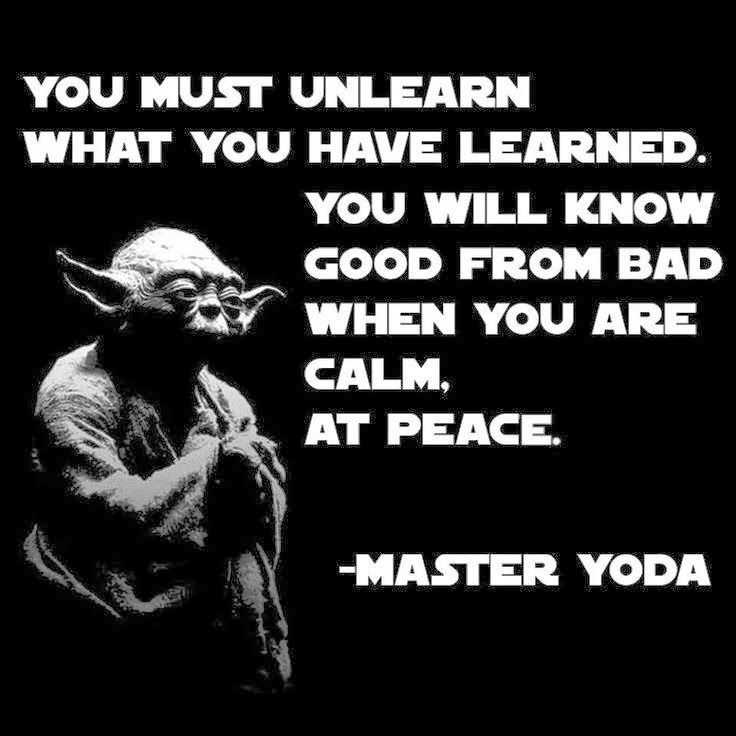 Pin By Lafmonster On Meditate On This Pinterest Yoda Quotes Inspiration Quotes Yoda