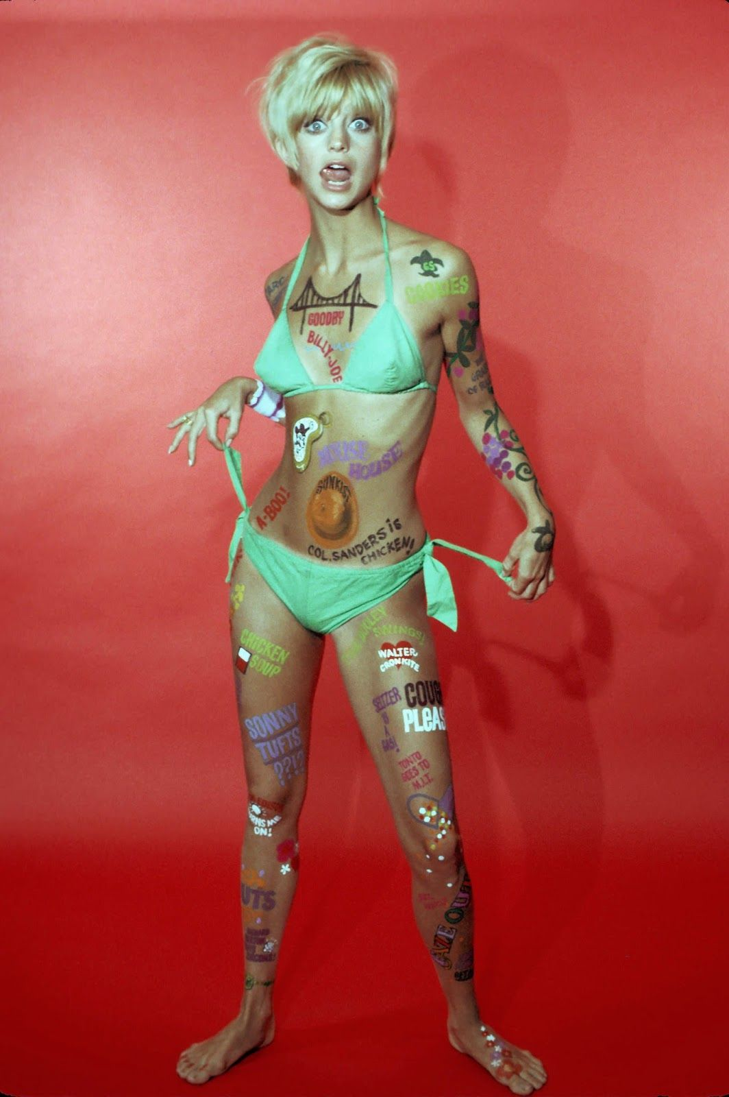 fc3509fcf0b6c vintage everyday: Goldie Hawn's