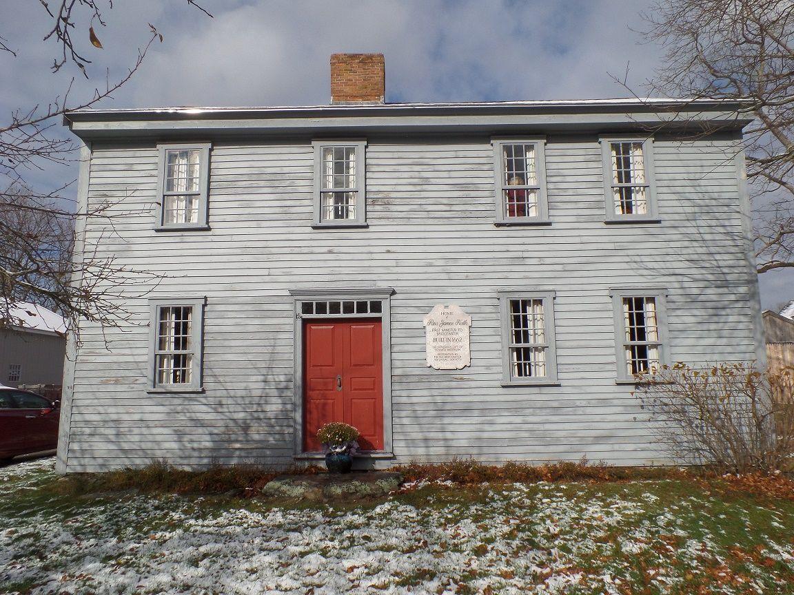 James Keith Parsonage Photo Nov 2015 Old Houses Outdoor Decor West Bridgewater