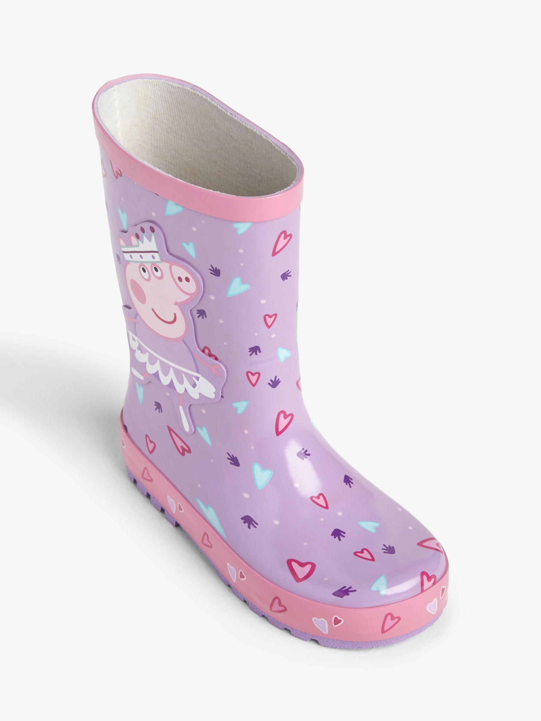 Kids PVC Anti-Slip Rain Boots Shoes Wellington Waterproof Easy Slip On Children