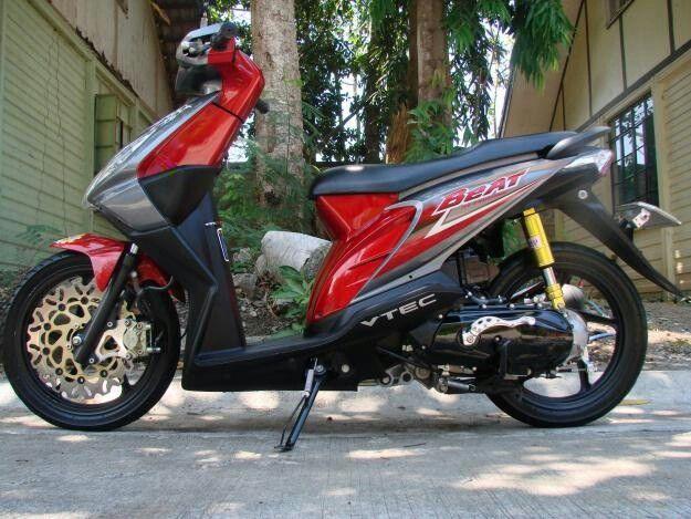 Honda Beat Simple Modification Scooter Custom Kawasaki Ninja Cool Bikes Motorbikes Beats