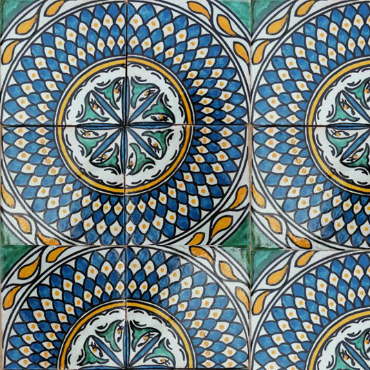 Hand Painted Tile From Mosaic House Painting Ceramic Tiles