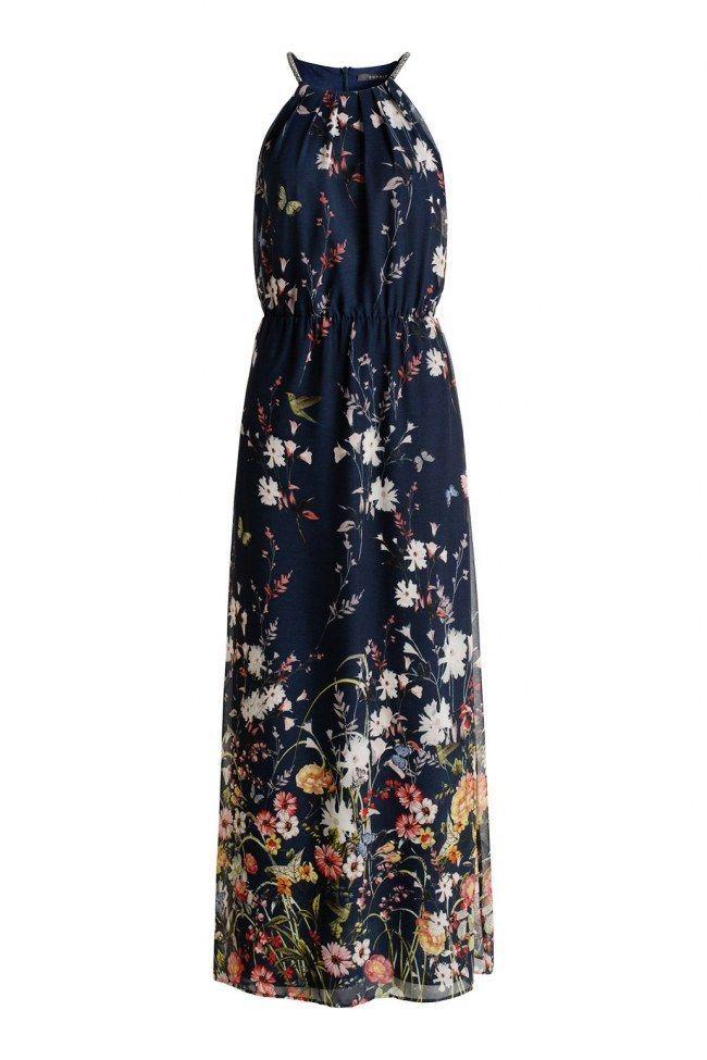 modische Muster vielfältig Stile Brauch Maxi kleid esprit blumen – Modische Damenkleider
