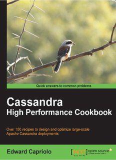 Cassandra High Performance Cookbook Pdf