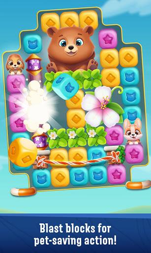 Pet Rescue Puzzle Saga 1 9 5 Latest Mod Apk Download Apksecret Com Unique Puzzles Animal Rescue Fun New Games