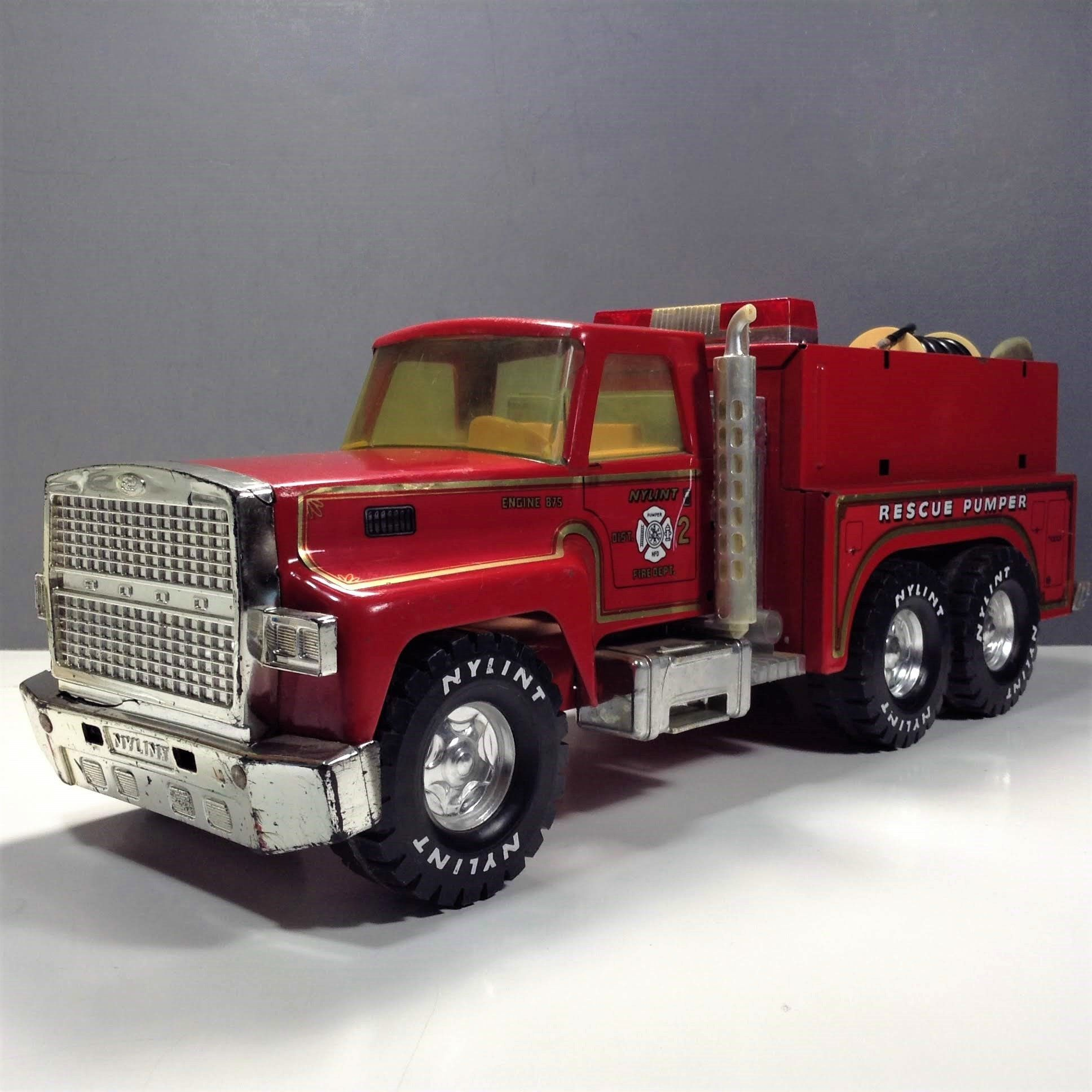 Nylint Rescue Pumper Fire Truck 17 Nylint Fire Engine 875 Ford