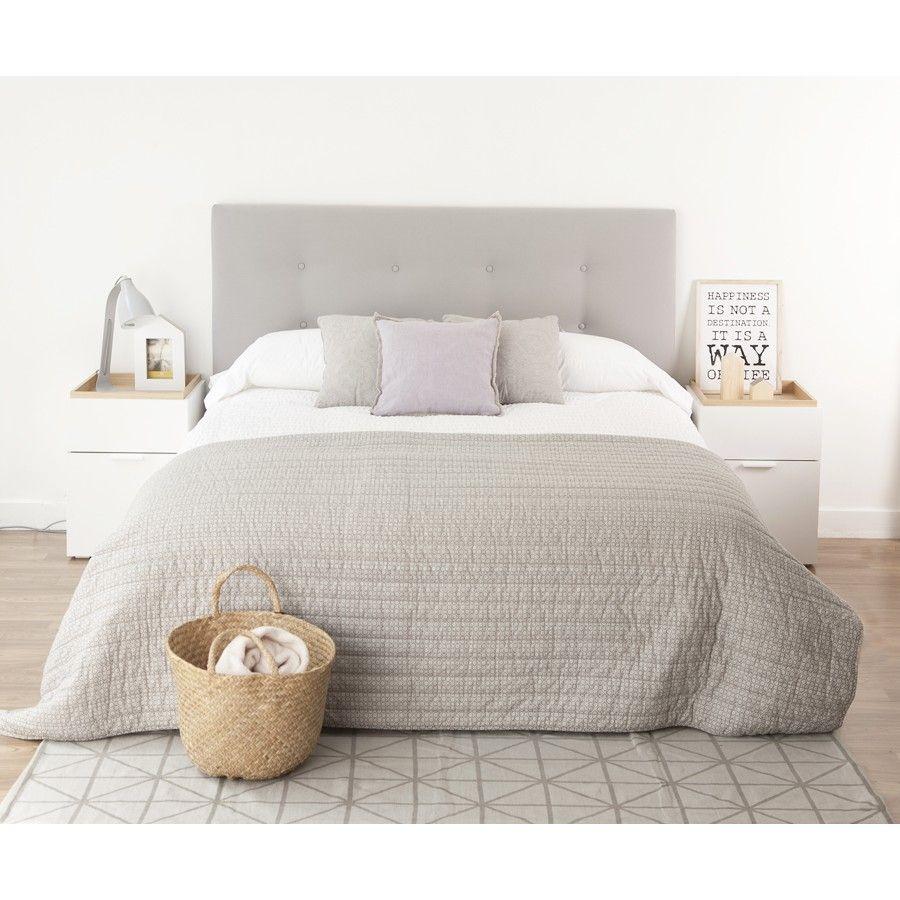 Dixon cabecero tapizado cabecero tapizado y dormitorio - Cabeceros de cama tapizados ...
