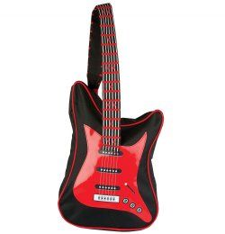 Red Guitar Backpack | Kids Backpacks Australia | Funky Kids ...