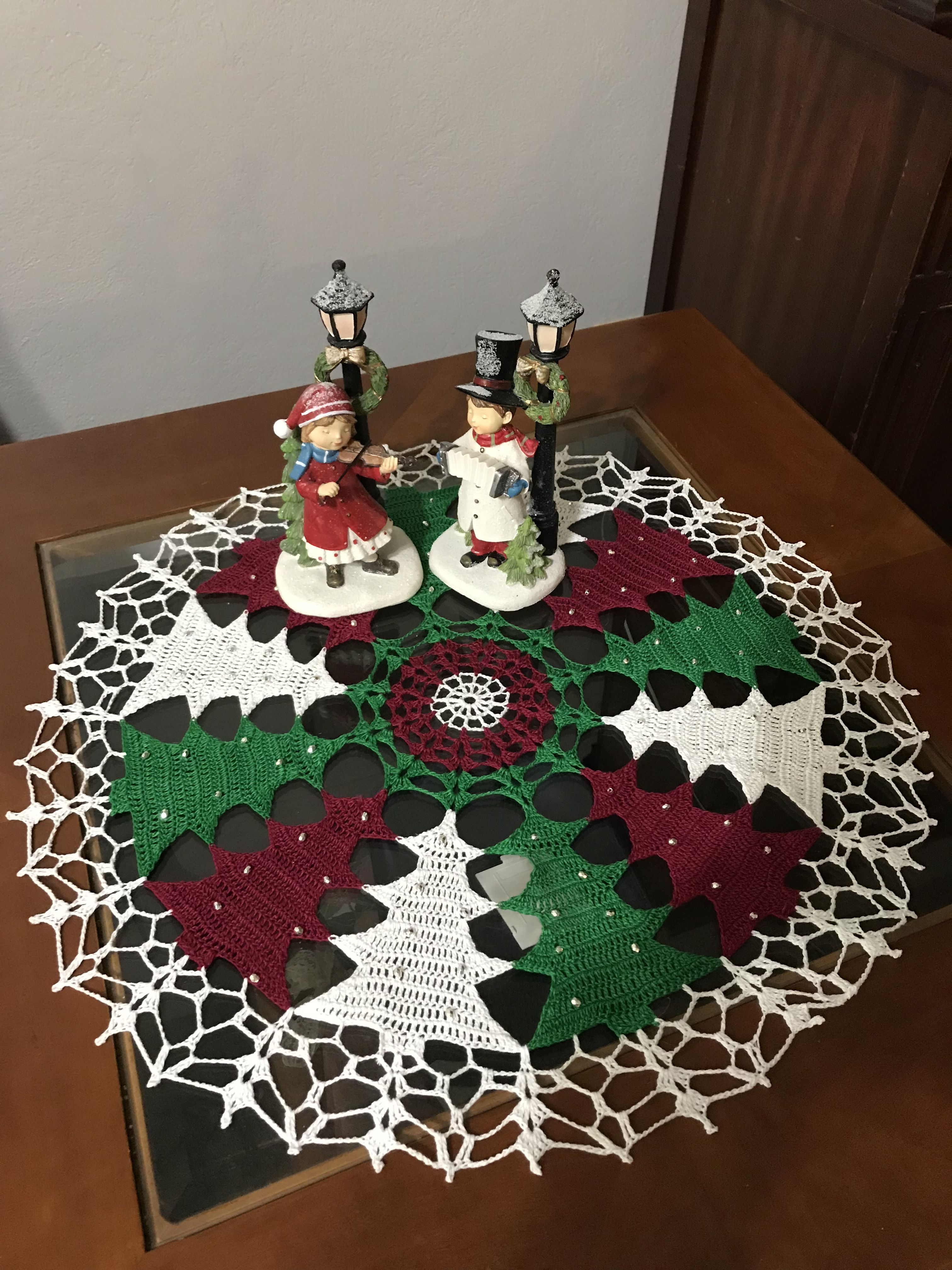 Pin By Clara Razuri On Crochet Crochet Christmas Trees Pattern Crochet Christmas Ornaments Crochet Christmas Trees