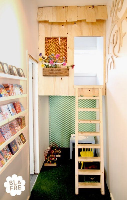 A Little Boy In Paris With A Seriously Cool Room, A Cupboard Converted Into  A