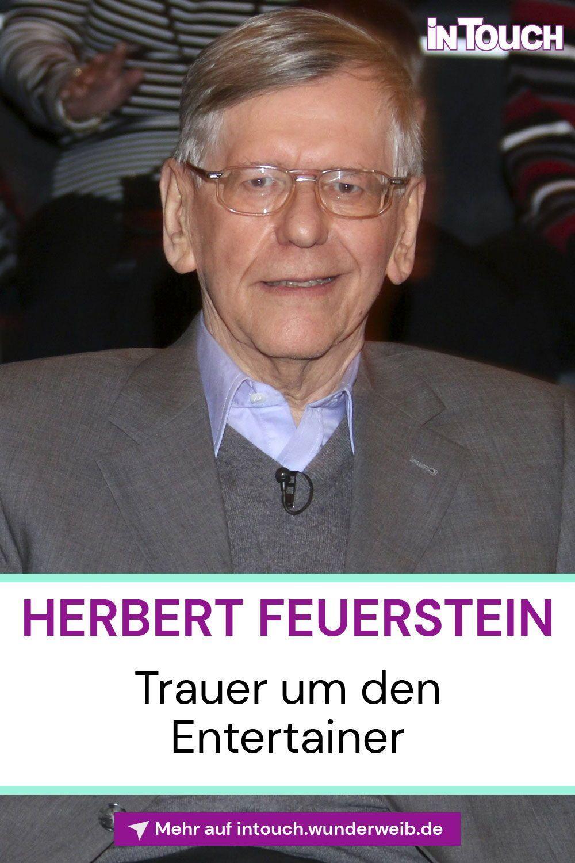 Herbert Feuerstein Der Deutsche Entertainer Ist Tot Promi News Feuerstein Deutsche Stars