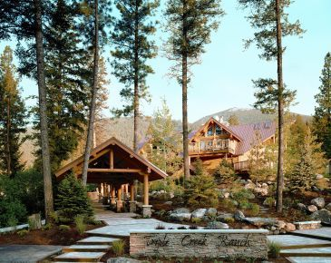 Triple Creek Ranch, winner of the Fodor's 100 Hotel Awards for the Local Flavor category #travel