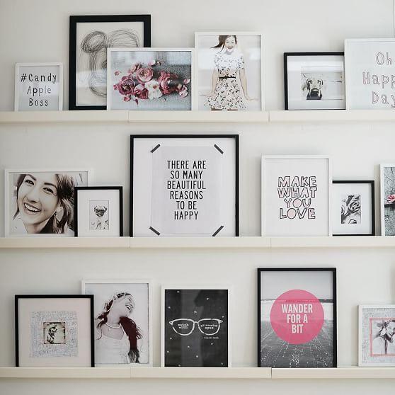 Gallery Frames, White