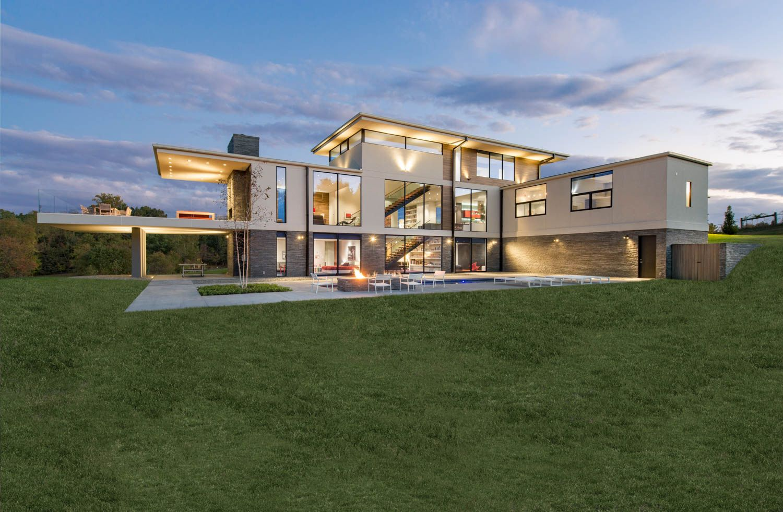 Whipple Russell Architects. Walker Road, Great Falls Virginia Washington D.C.