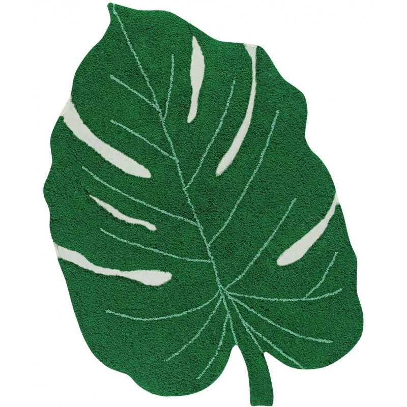 tapis monstera leaf feuille vert lorena canals tapis design pinterest tapis. Black Bedroom Furniture Sets. Home Design Ideas