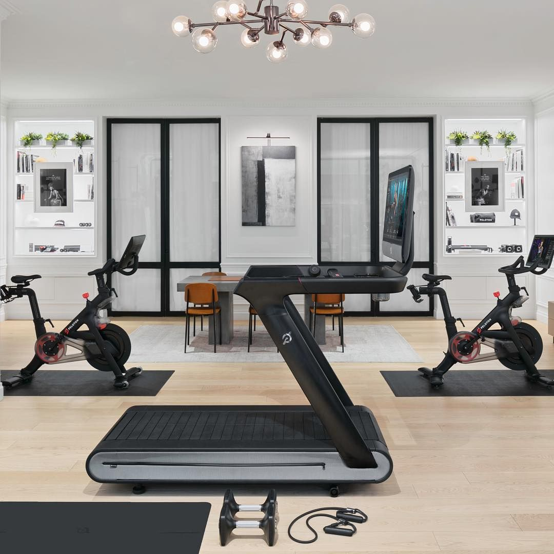 Peloton On Instagram Experience The Peloton Tread For The Very First Time Starting Today Tap The Link To Book A Spo Peloton Room Peloton Room Ideas Peloton