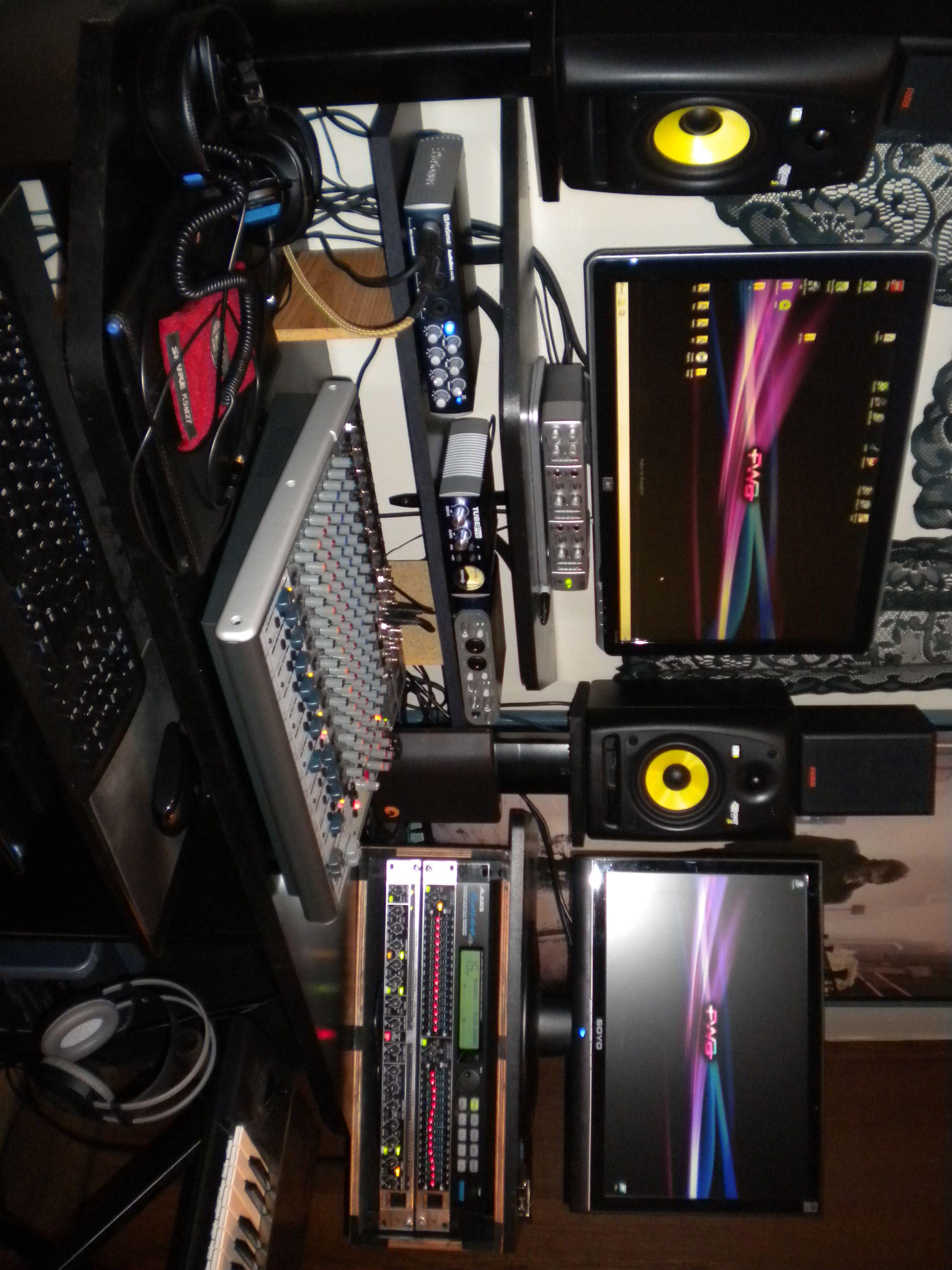 List Of Home Recording Studio Equipment