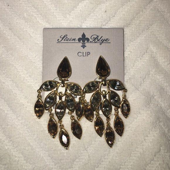Stein Blye Clip-on Earrings Stein Blye Clip-on Earrings new never worn with tags Stein Blye Jewelry Earrings