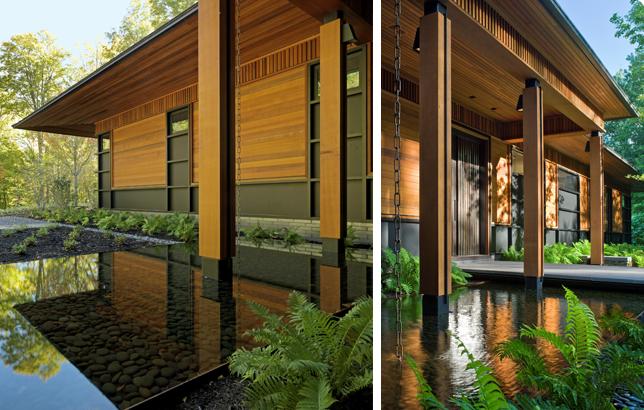 Gorgeous Water Garden! - Quaker Bluff Residence | Birdseye Builders