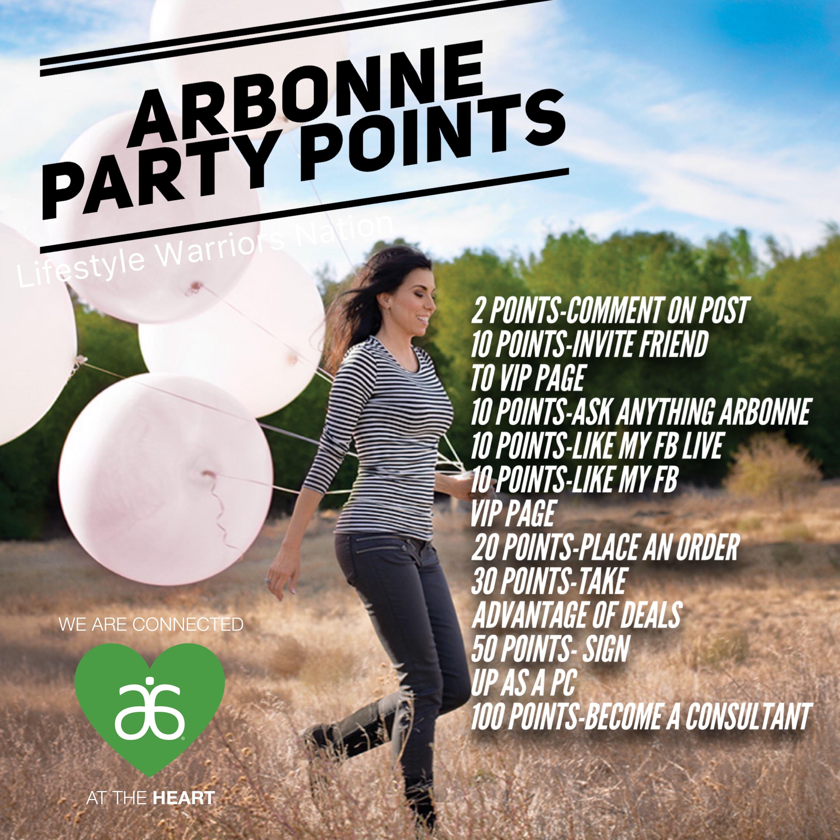 Facebook Live Raffle Game Arbonne, Facebook party
