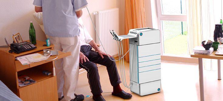 Hülsenbeck Hoss - Medizintechnik Industriedesign Medical Design - Behandlungsbeispiel in einem Seniorenheim