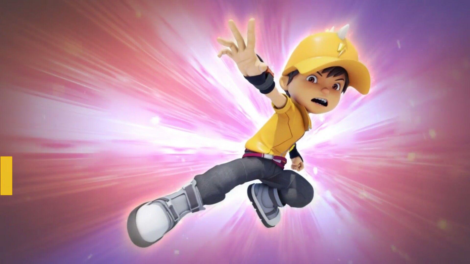 Boboiboy Lightning BOBOIBOYGALAXY Animasi, Komik, Mobil