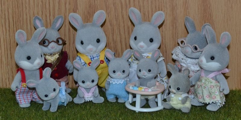 Calico Critters Cottontail Rabbit Family Calico Critters