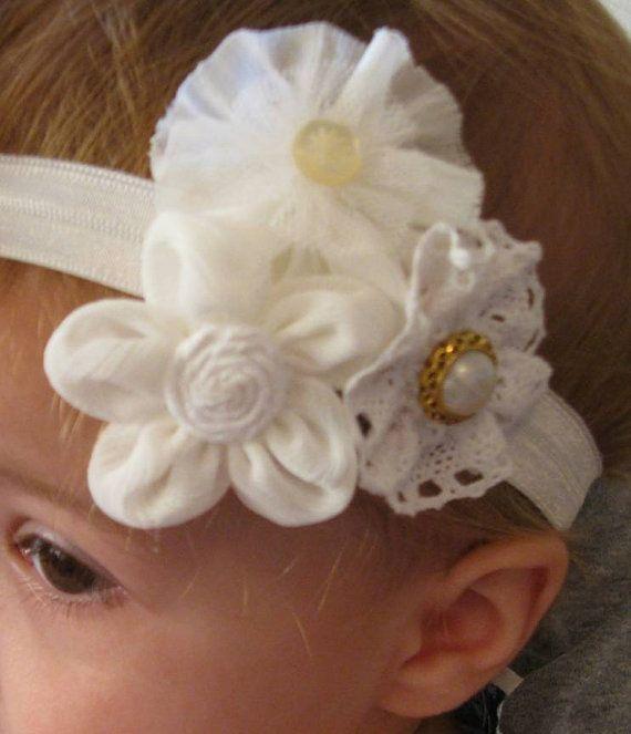 Infant Headband Baby Headband Girls by MyKidsCuterBowtique on Etsy, $9.99