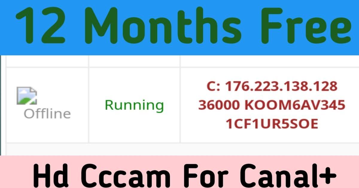 free cline cccam 12 months 2016