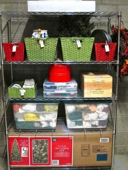 How to Store Christmas Decorations Holiday ideas - Christmas