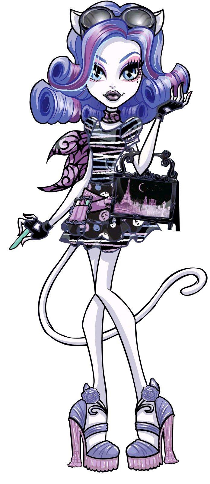 Catrine demew 3d all monster high profile pinterest - Personnage monster high ...