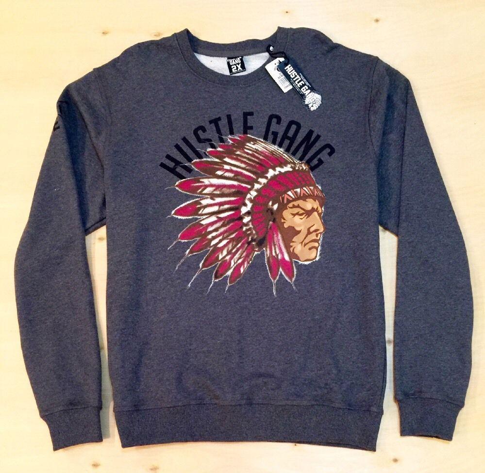 Hustle Gang Men S 4xl Crewneck Sweater Ebay Sweaters Men Sweater Crew Neck Sweater [ 975 x 999 Pixel ]