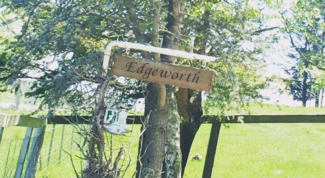 EDGEWORTH Farm name, House names, Names with meaning