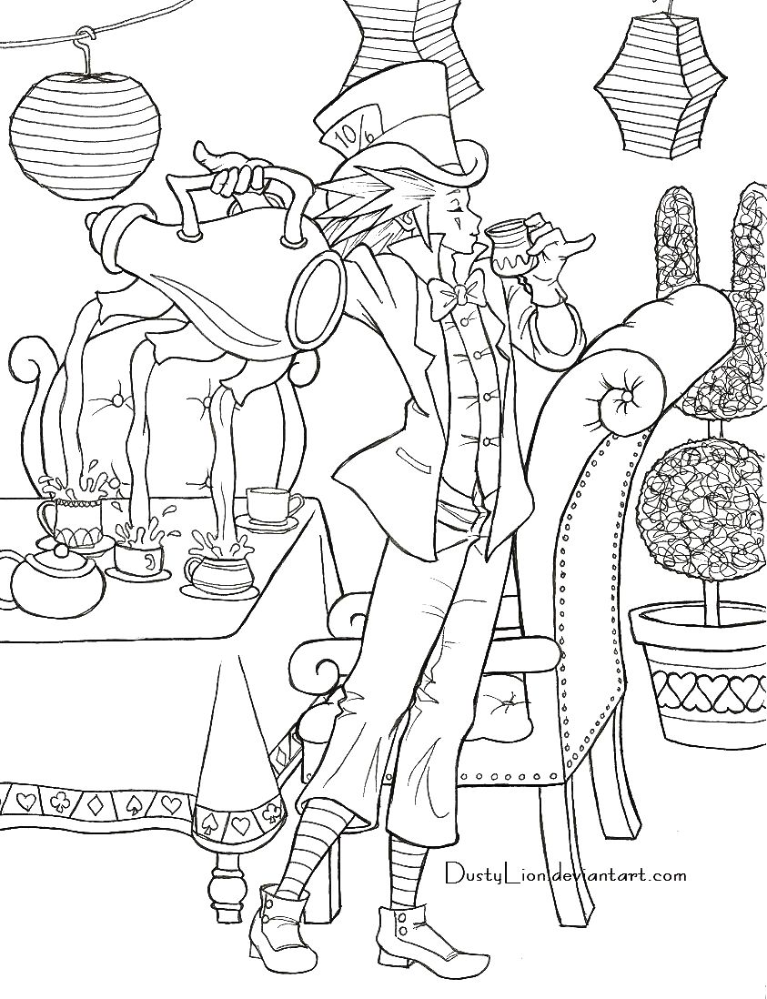 Axel The Mad Hatter By DustyLion DeviantART