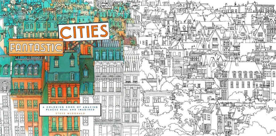 Libro para colorear dedicado a los adultos | Libros para colorear ...
