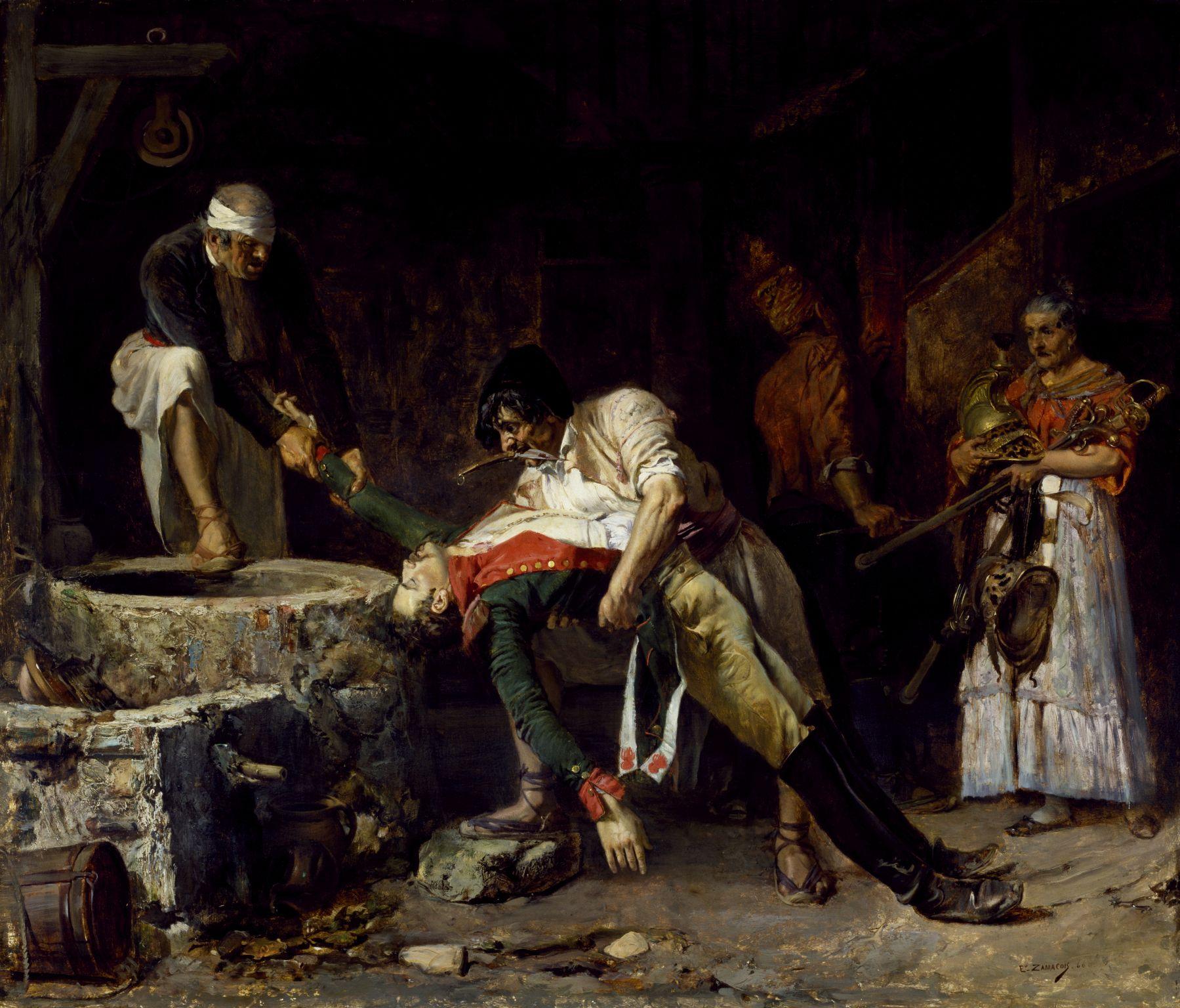 Eduardo Zamacois y Zabela - Spain 1812, French Occupation [1866] Walters Art Museum, Baltimore - Oil on canvas, 44.3 x 52 cm