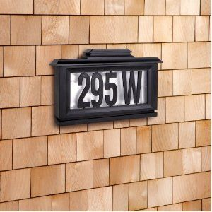 premier coup d'oeil prix favorable recherche de liquidation Sarah Peyton Outdoor Solar LED Address Plaque / $19.30 ...