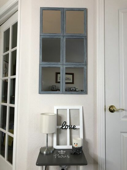 How to Make a DIY Pottery Barn Inspired Mirror